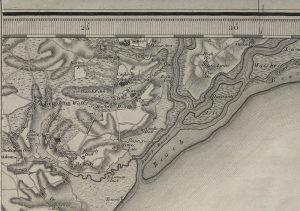 1856 map of Boyton, Suffolk